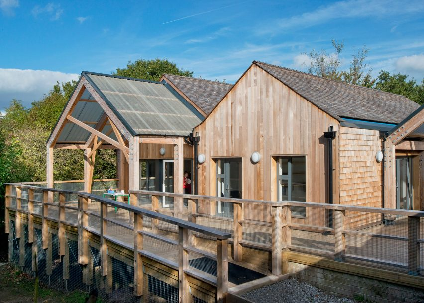 Mellor Primary School by Sarah Wigglesworth Architects shortlisted for the RIBA Stephen Lawrence award