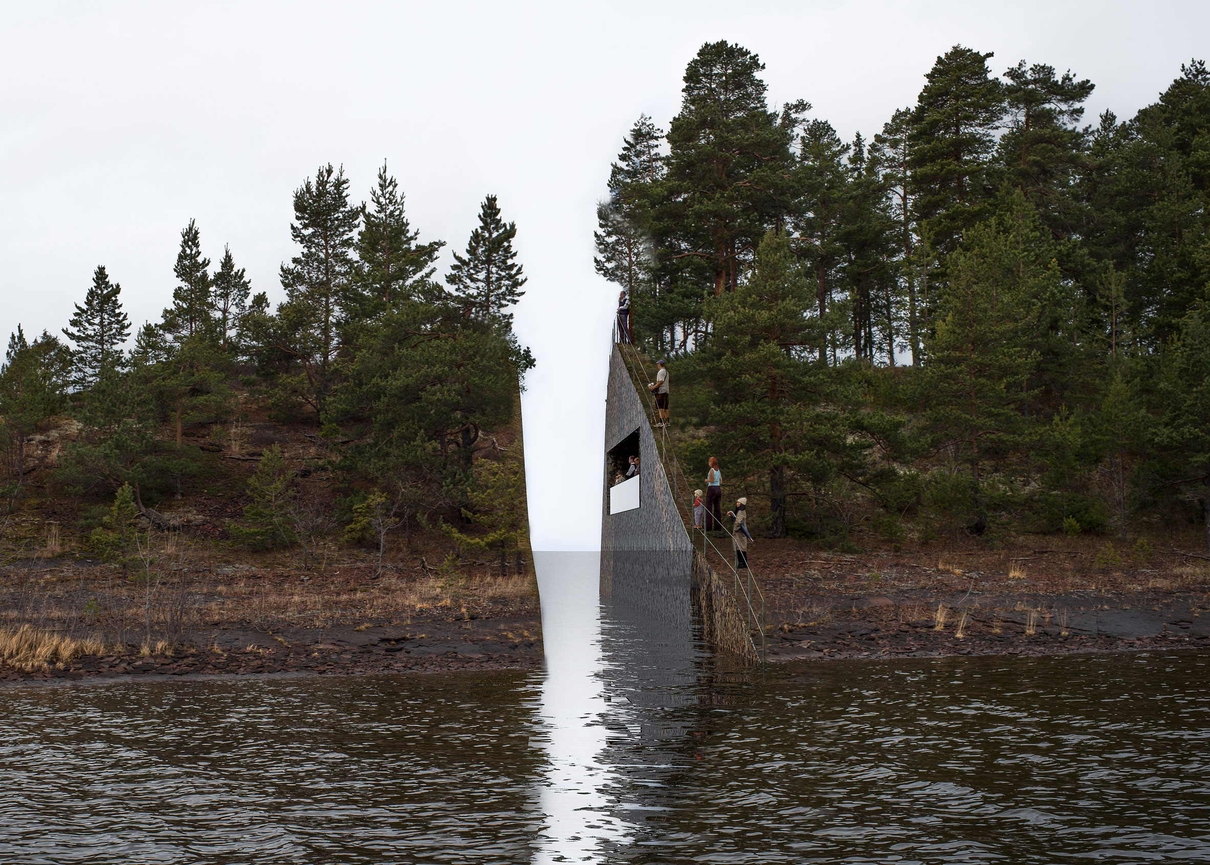 The Norwegian government has offered to abandon plans for a memorial to the victims of the 2011 terrorist attacks