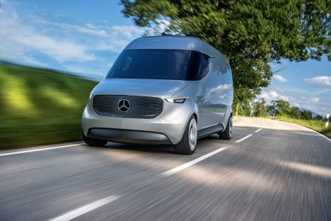 Mercedes-Benz unveils prototype for drone-equipped delivery van