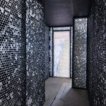 Michael Iveson builds bubble-wrap corridor inside The Averard Hotel in London