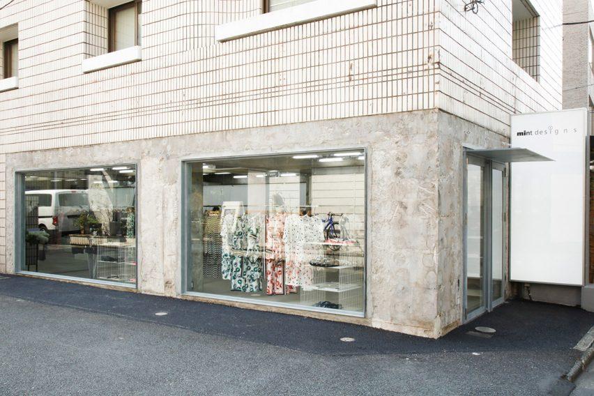 mintdesigns AOYAMA by Jo Nagasaka/Schemata Architects