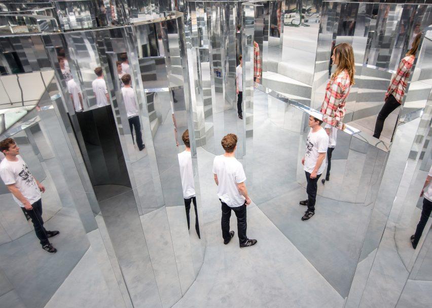 Mirror Maze by Es Devlin