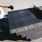 Murray Barker and Laith McGregor create concrete ping pong tables