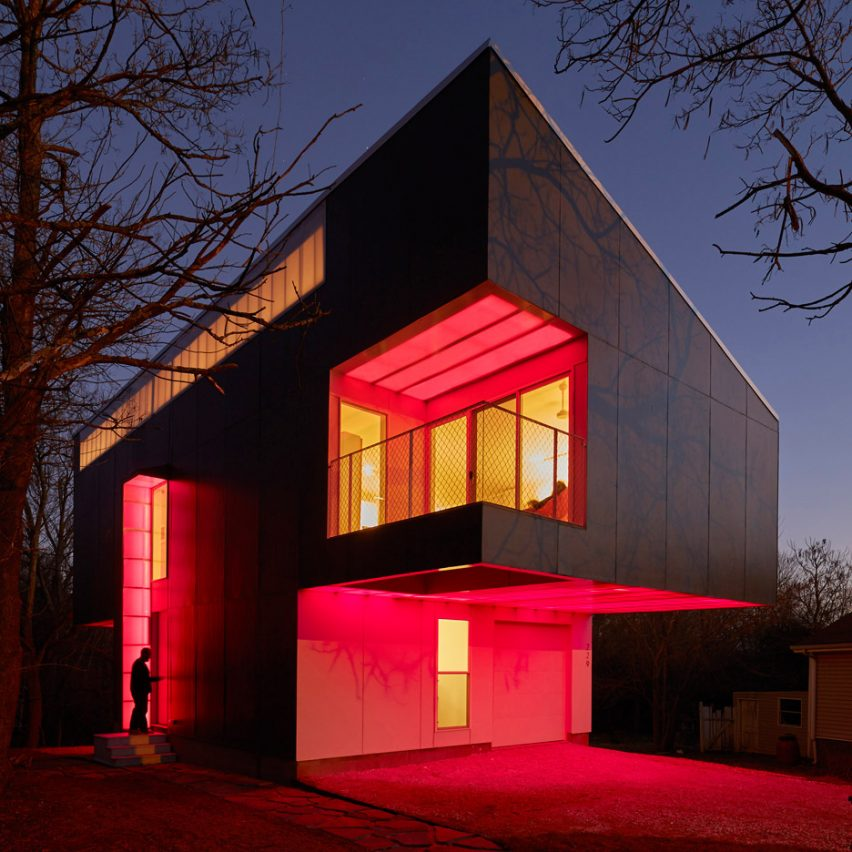 Mood Ring House by Silo AR+D