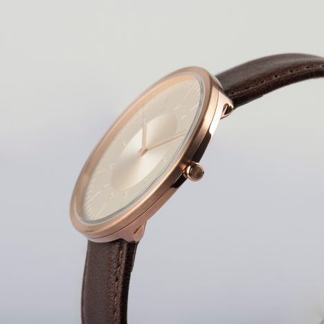 MMT's engraved Moonlight collection launches at Dezeen Watch Store