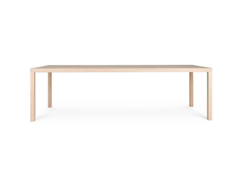 T88W Table by Maarten Van Severen is one of James Mair's top five minimalist furniture choices
