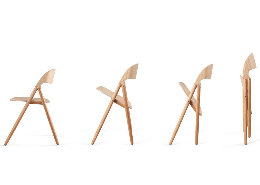 Narin Chair by David Irwin for Case Furniture