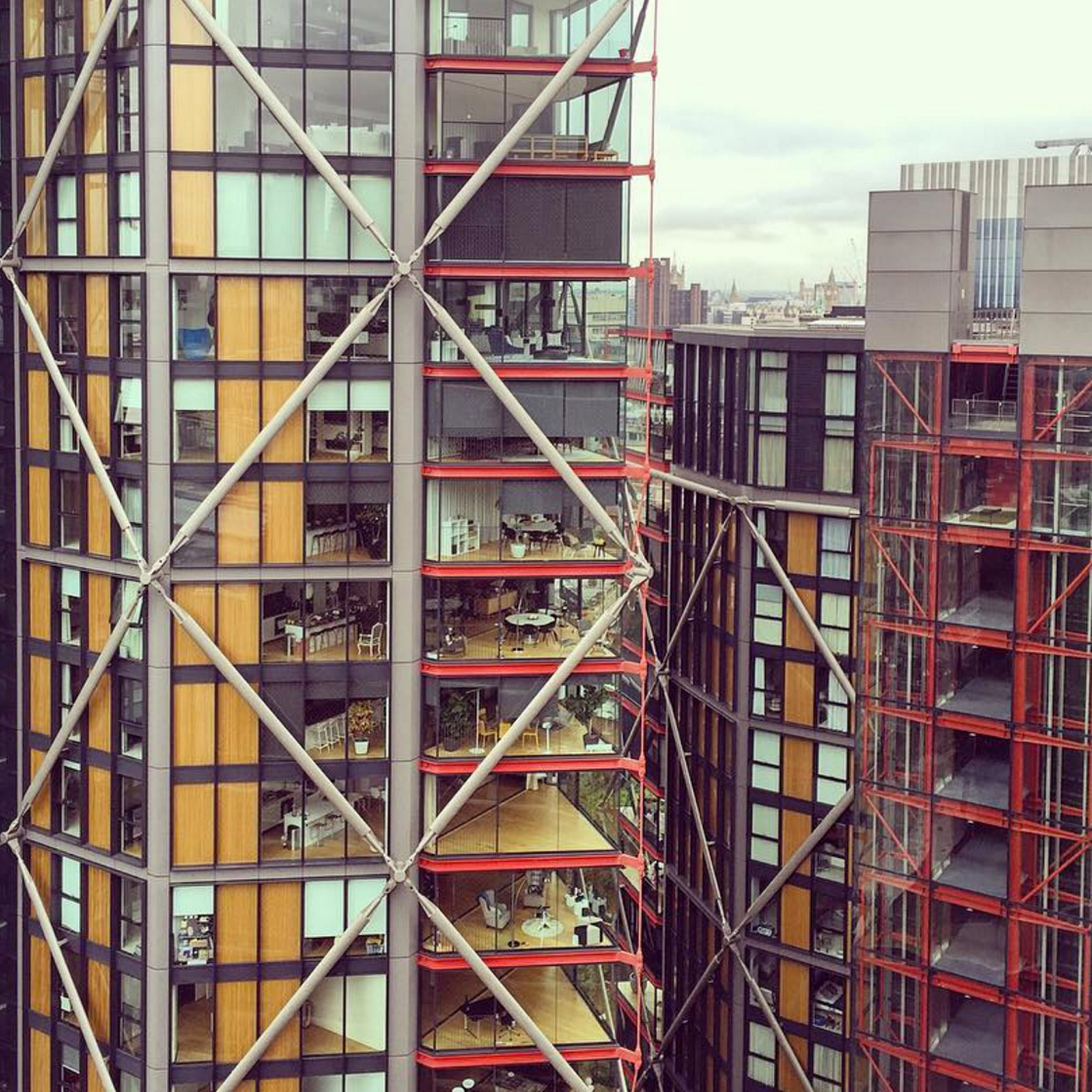 lowest price 7b358 6367e Tate Modern visitors accused of spying on Neo Bankside residents