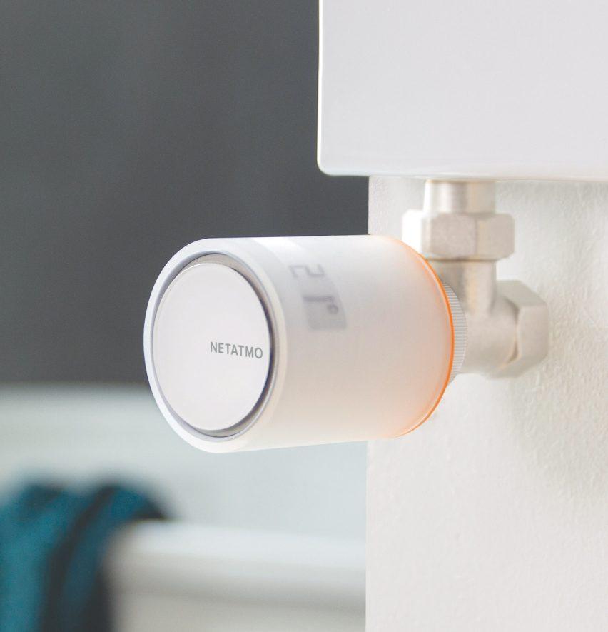 Philippe Starck designs voice controlled radiator valves for Netatmo