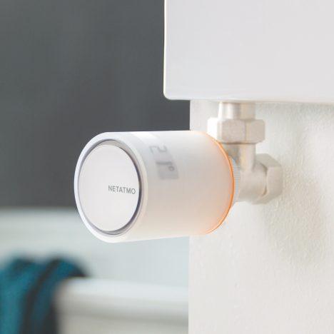 Philippe Starck designs voice-controlled smart radiator valves for Netatmo
