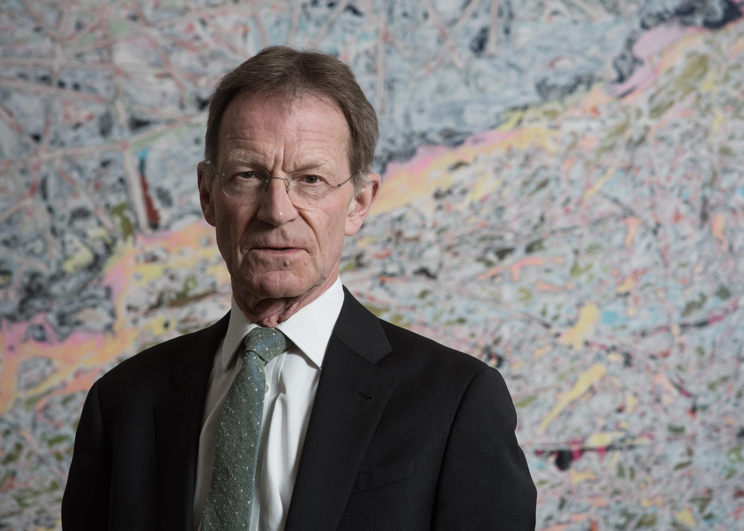 Nicholas Serota steps down as director of the Tate Modern