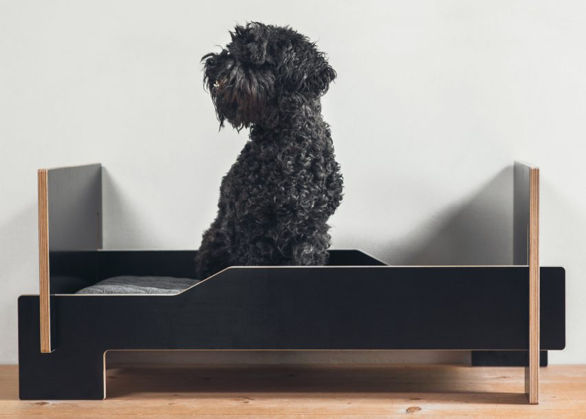 Kläffer dog bed by Nils Holger Moormann GmbH