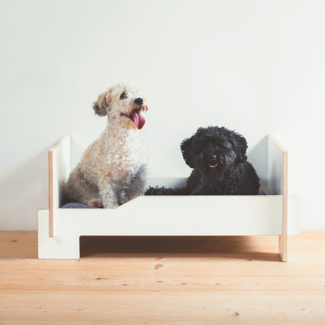 Nils Holger Moorman launches dog-sized version of its flatpack bed