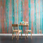 Piet Hein Eek designs oxidised copper wallpaper for NLXL Lab