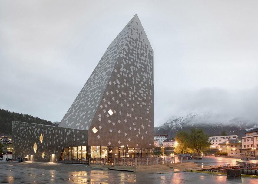 1 Of 21; Norwegian Mountaineering Center By Reiulf Ramstad Arkitekter