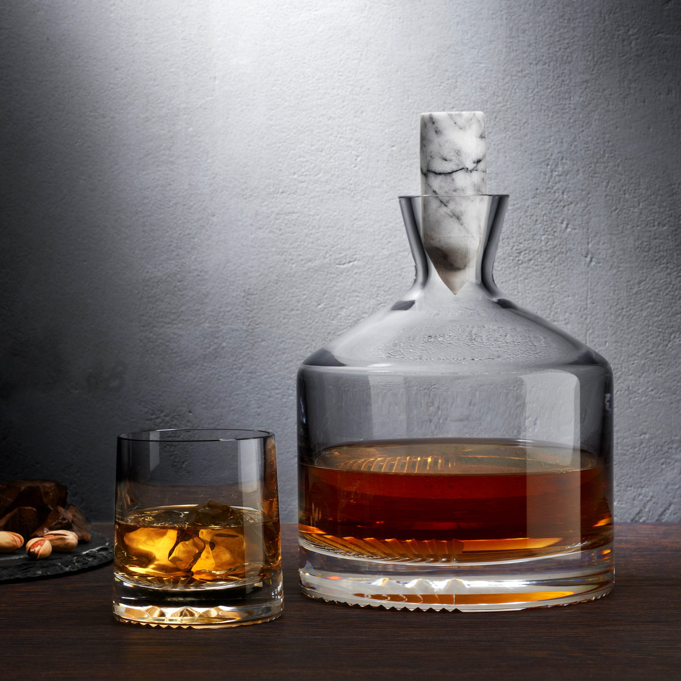 Alba whisky decanter by Joe Doucet for Nude