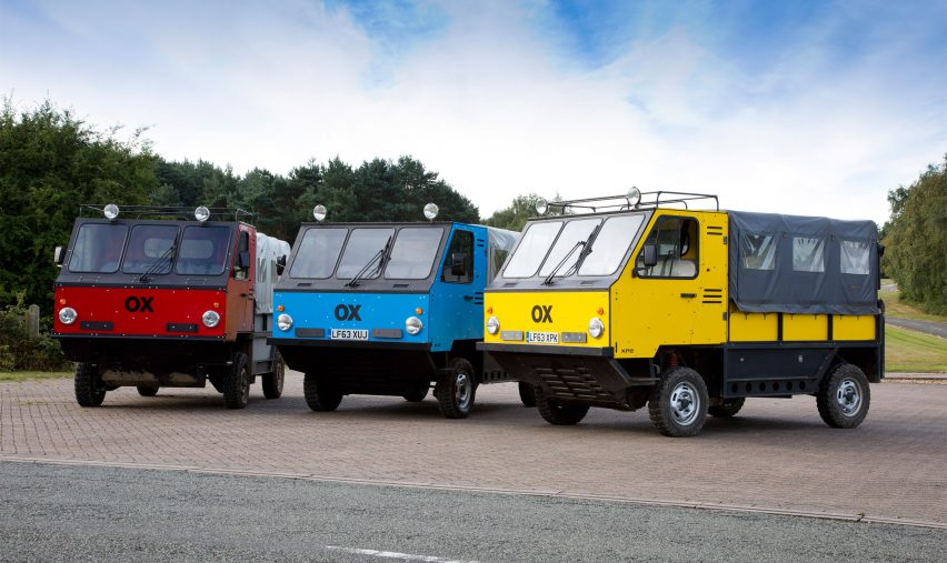 """World's first"" flat-pack truck designed to deliver aid to developing countries"