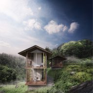 Carlo Ratti building digitally connected Pankhasari Retreat in the Himalayan mountains