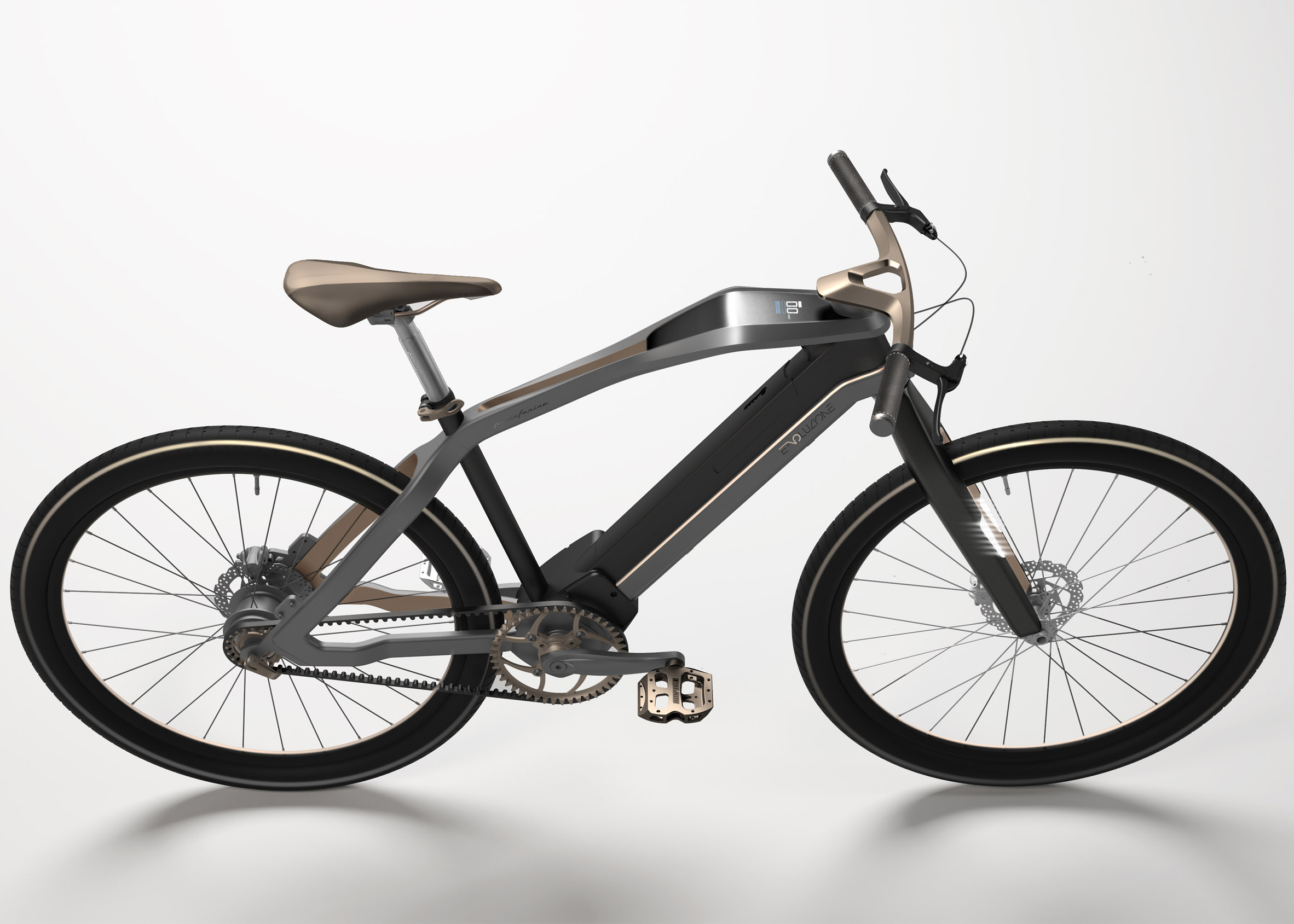 Pininfarina electric bike at Eurobike