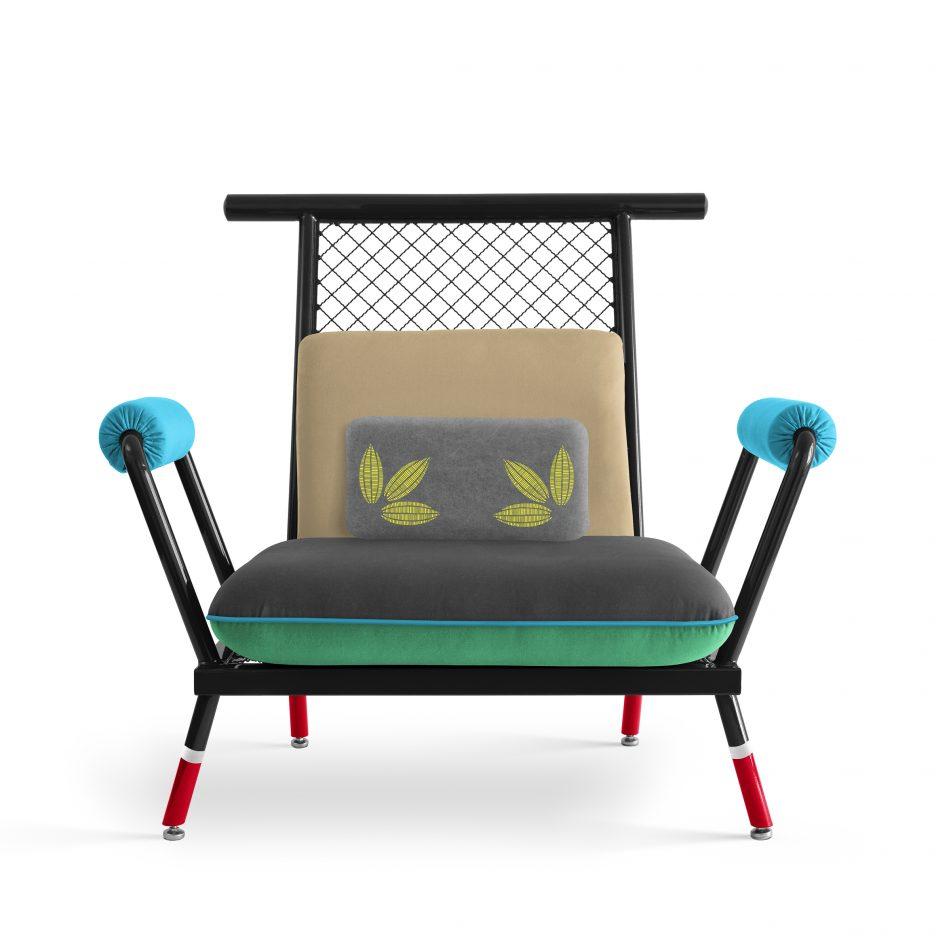 Paulo Kobylka Designs Furniture Using Brightly Painted