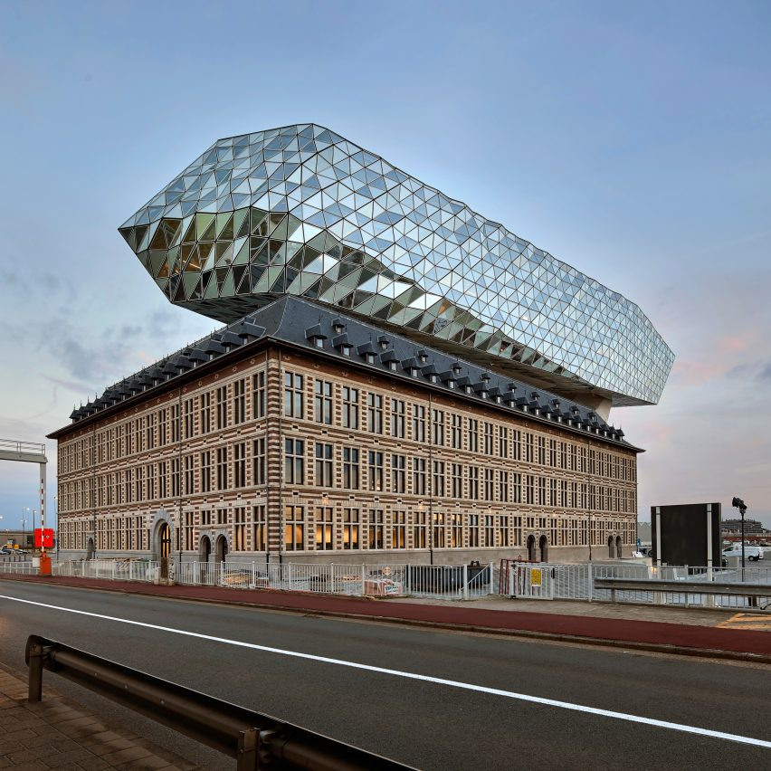 Port House, Antwerp, Belgium, by Zaha Hadid Architects