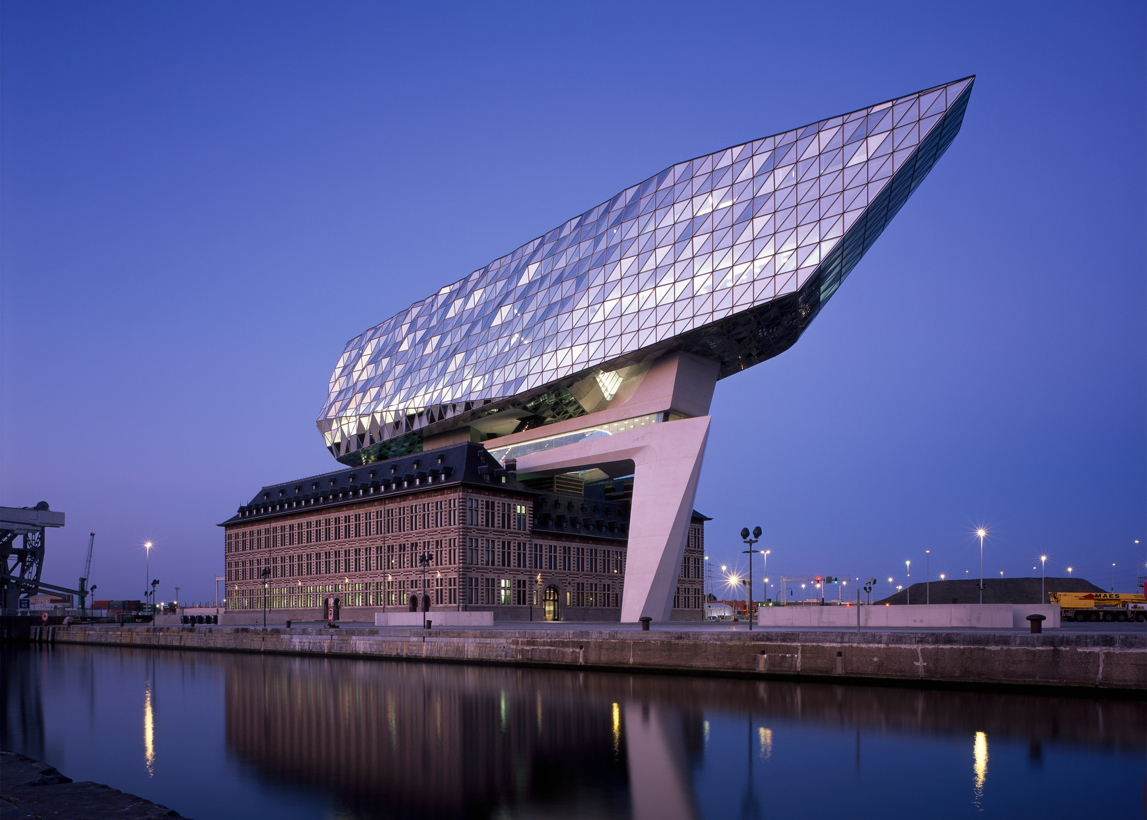 Port House Antwerp photographed by Helene Binet