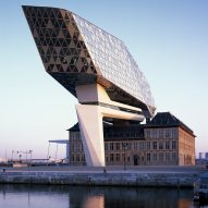 Zaha Hadid's Port House in Antwerp captured in photography by Hélène Binet