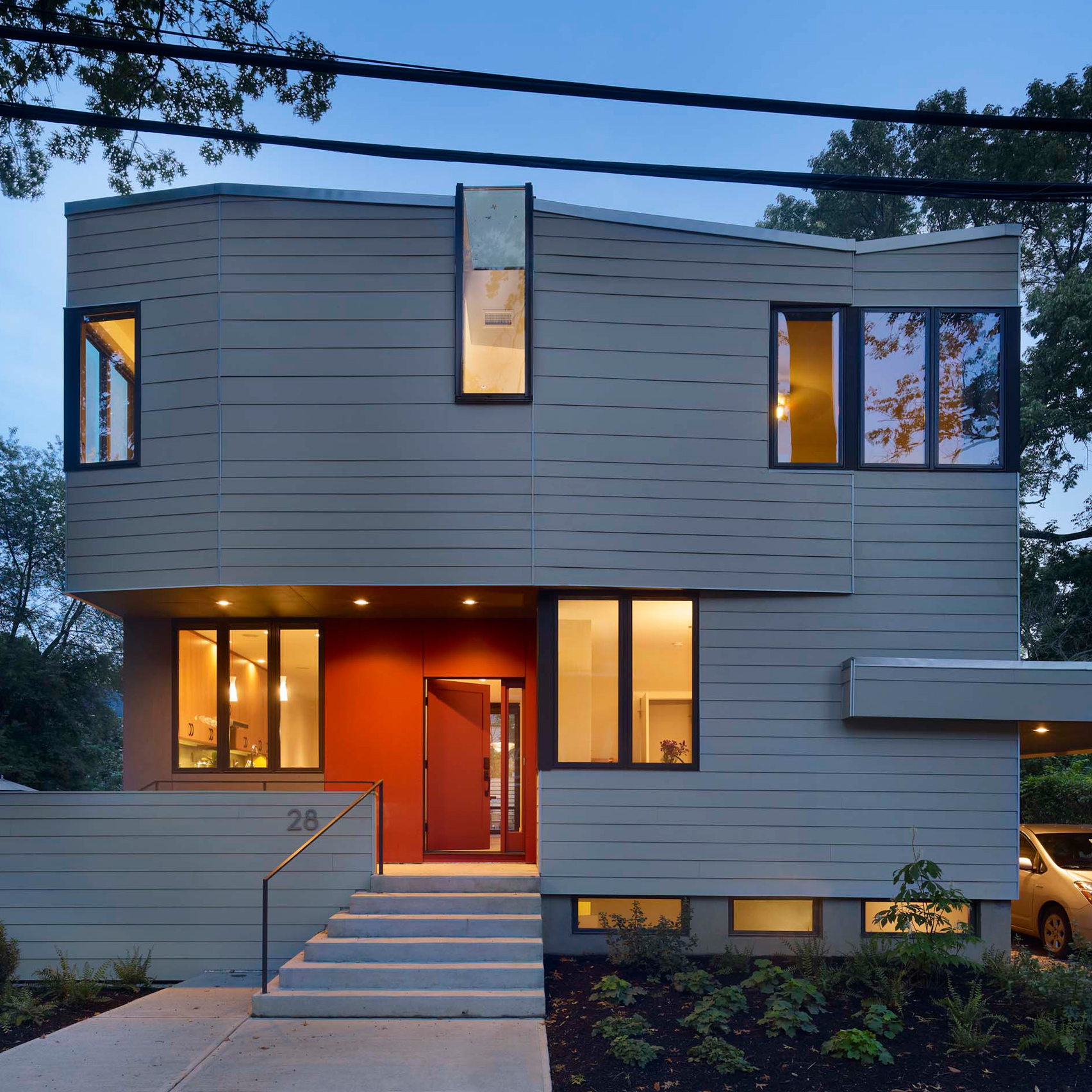 Prefab house in Princeton built in one day