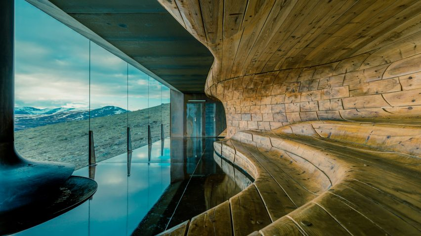 Reindeer Observation Pavilion by Snohetta movie