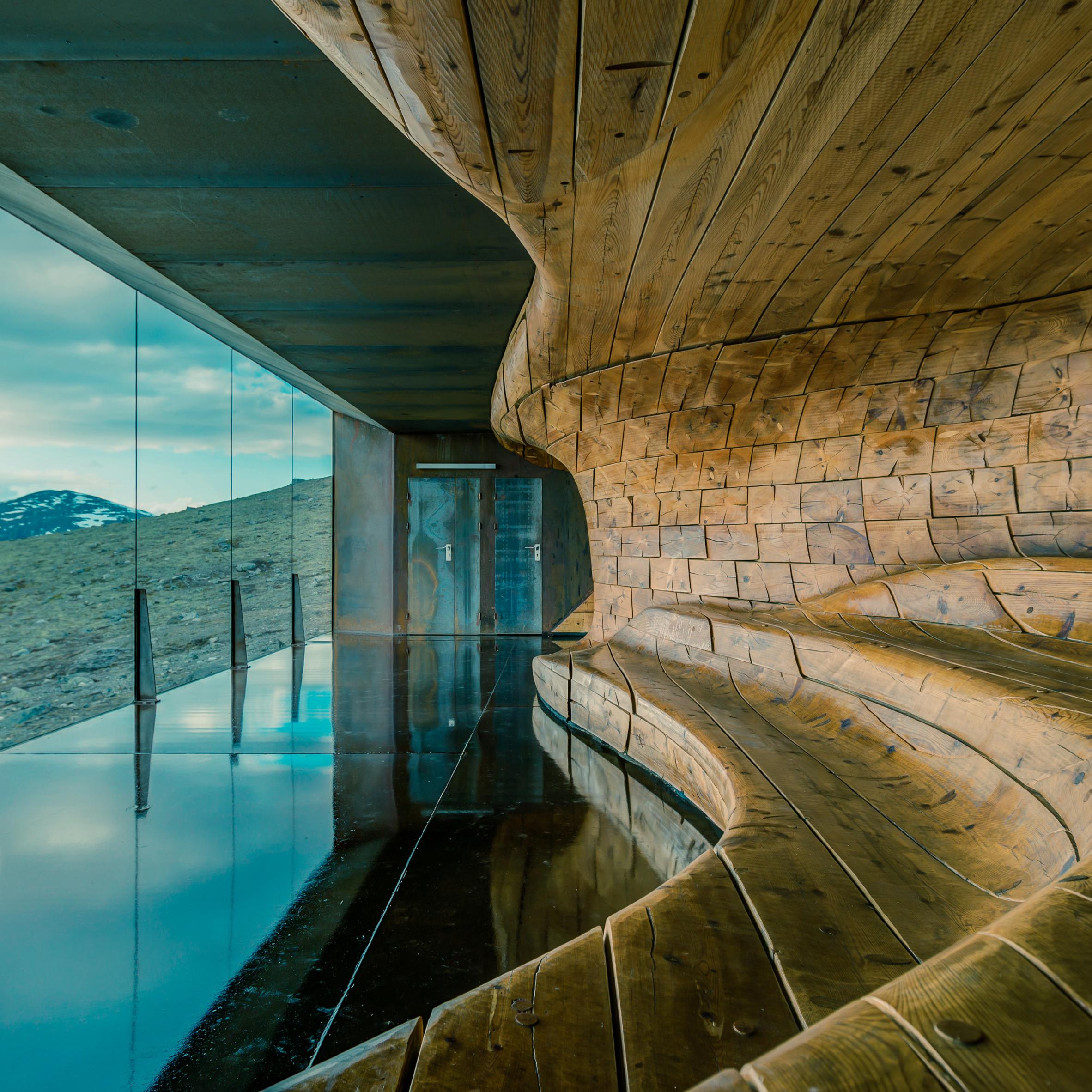 Reindeer Observation Pavilion by Snohetta movie