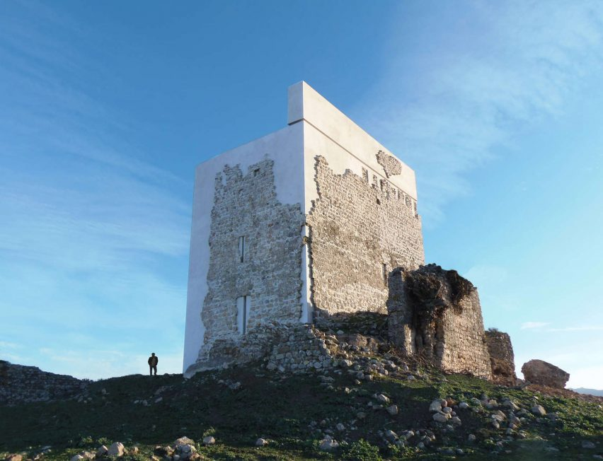 Restoration of Matrera Castle, Spain by Carquero Arquitectura