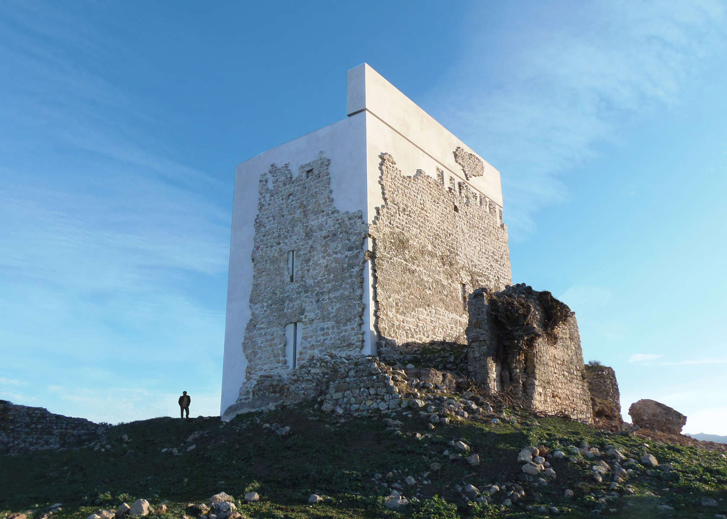 Restoration of Matrera Castle, Spain by Carquero Arquitectura