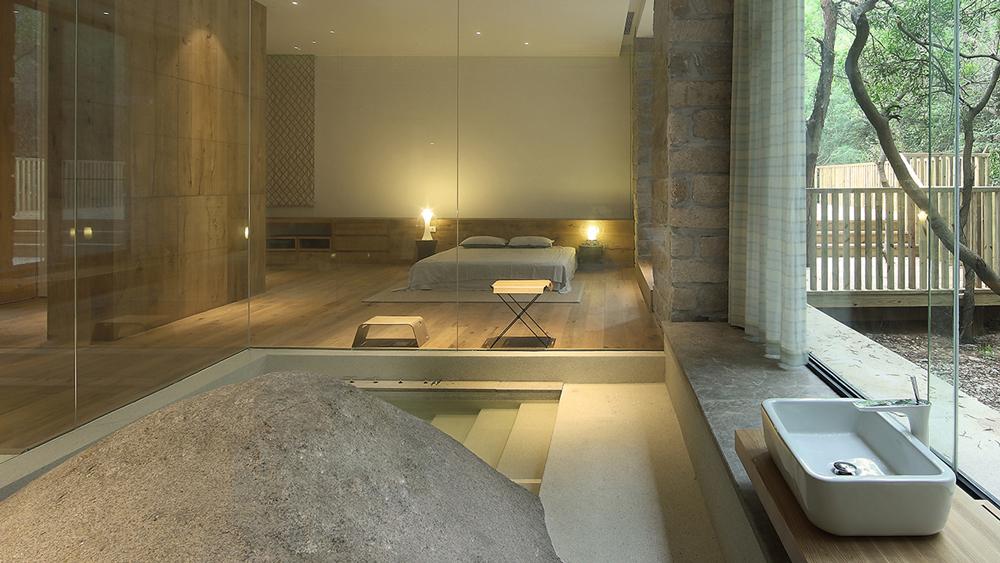 Xu fu min creates paradise like house in china that brings landscape in