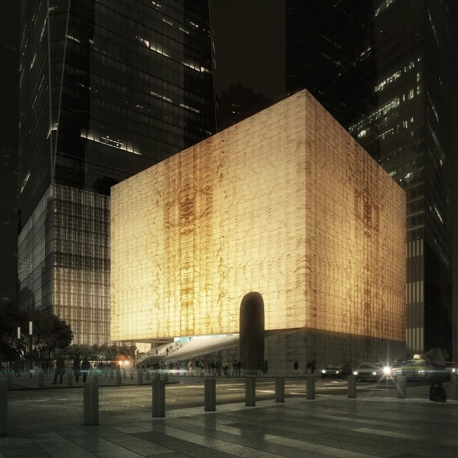 rex releases images of performing arts centre for new york
