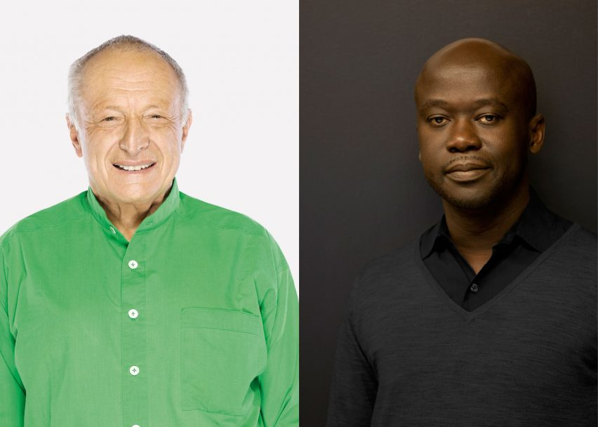 Richard Rogers and David Adjaye to select next Serpentine Pavilion architect