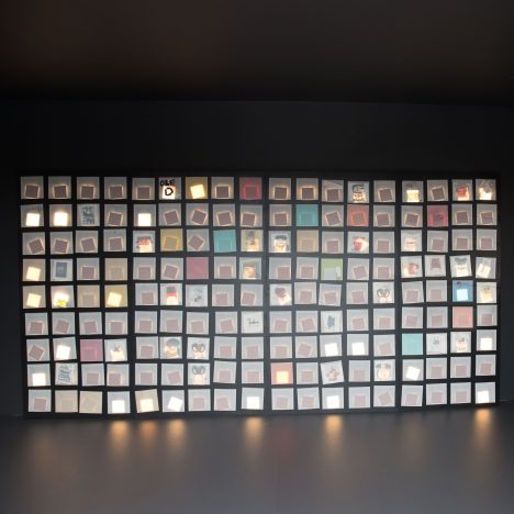 Ron Arad creates OLED light panel installation for LG Display at London Design Festival