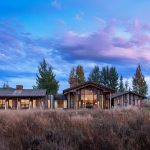 Ward + Blake uses salvaged wood and weathering steel to clad rustic Wyoming house