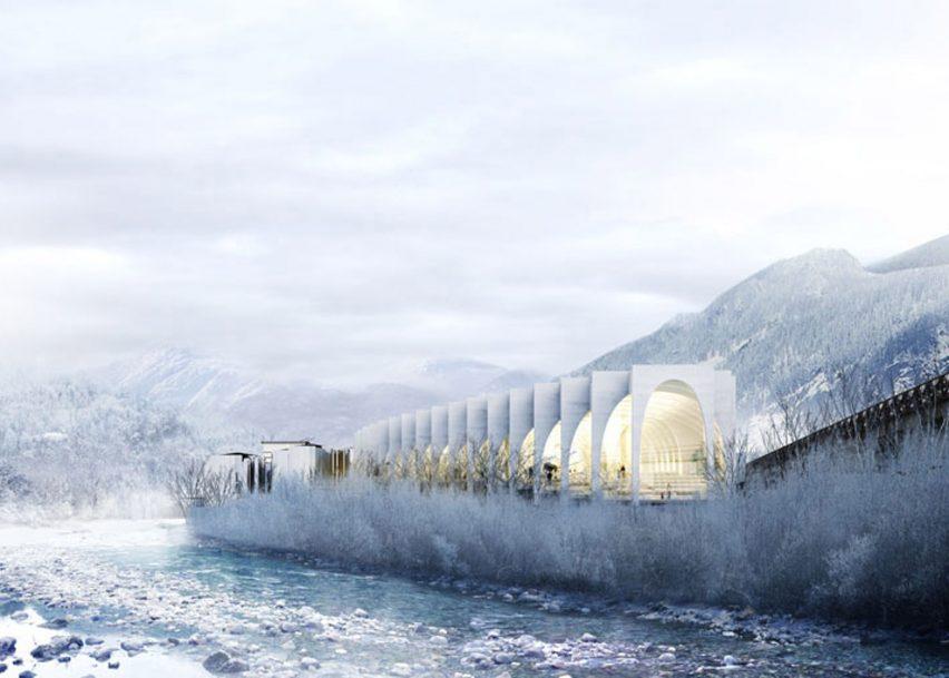 BIG, MVRDV and Snøhetta unveil designs for San Pellegrino headquarters