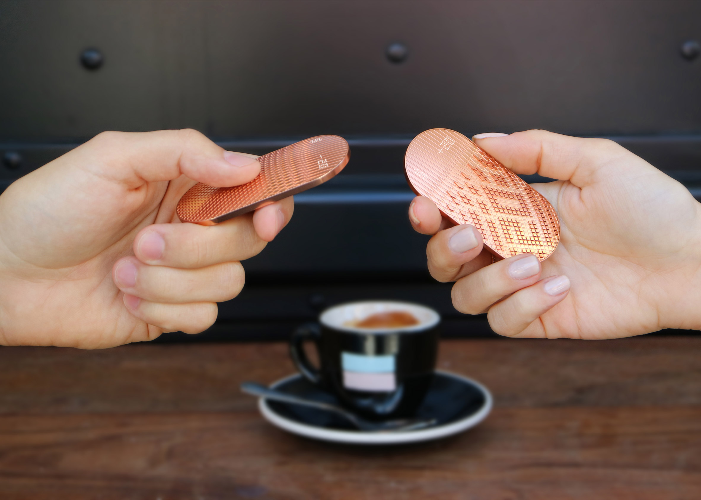NewDealDesign's Scrip device brings tactility to digital payments