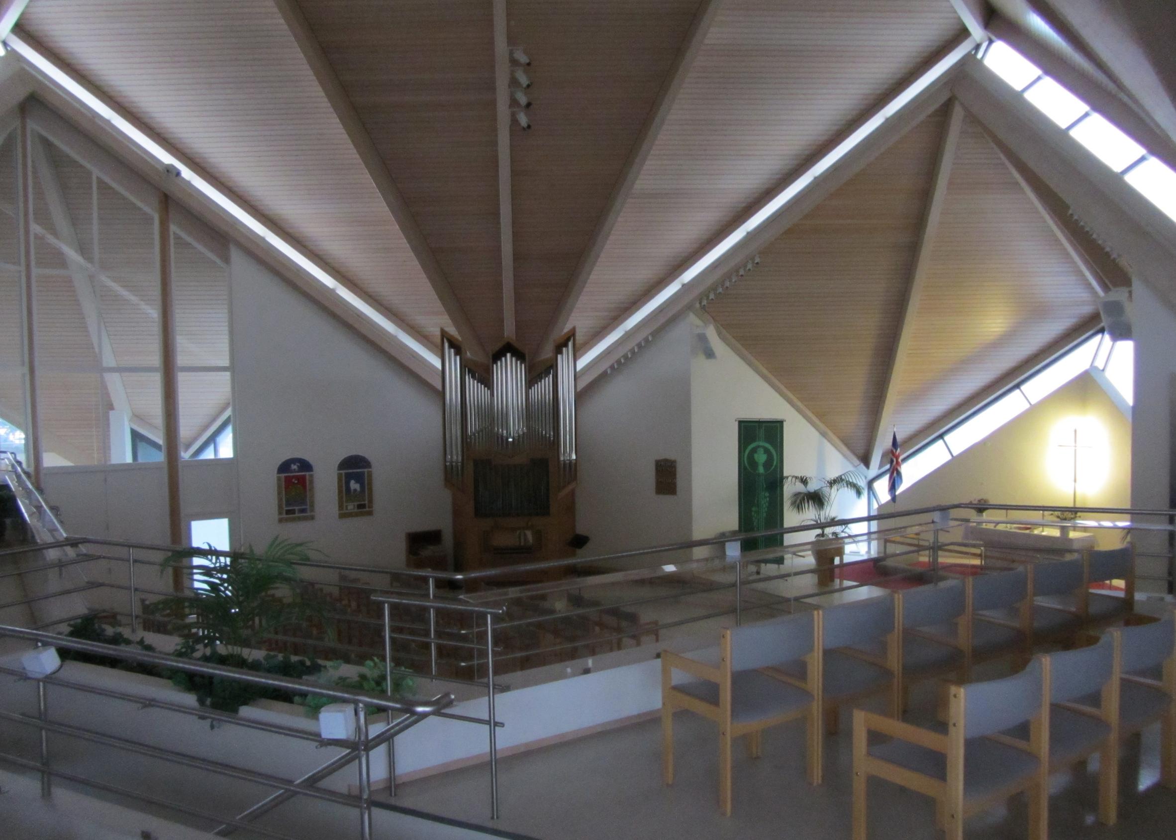 Seltjarnarneskirkja by Harðar Björnssonar, 1989