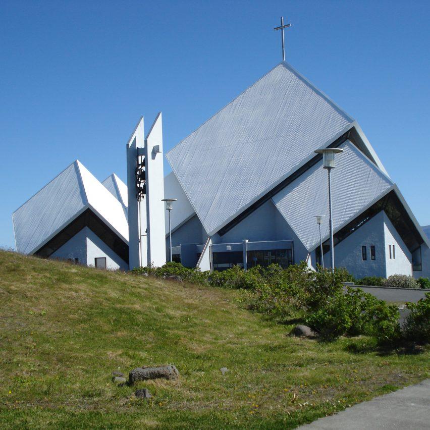 Seltjarnarneskirkja by Hörður Björnsson, 1989