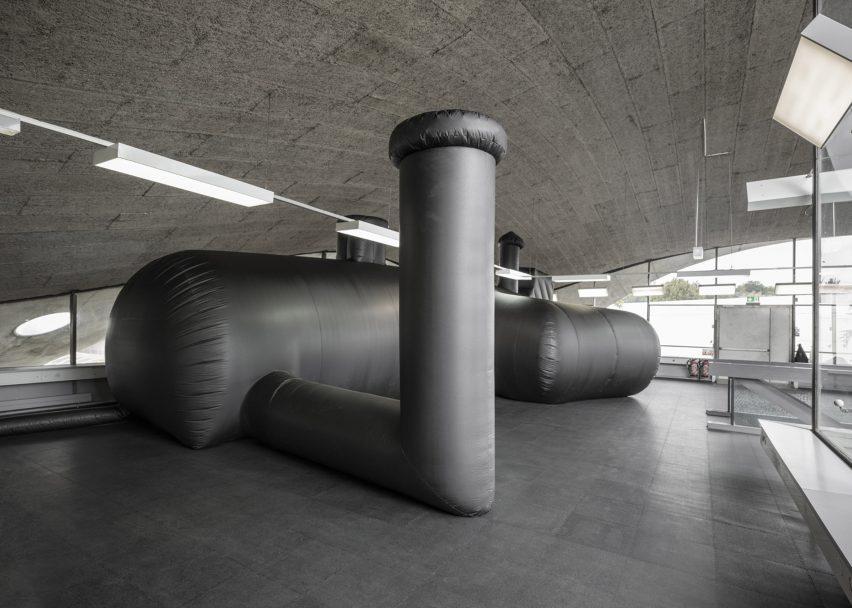 Architectural bureau wall · vdnh pavilion · divisare
