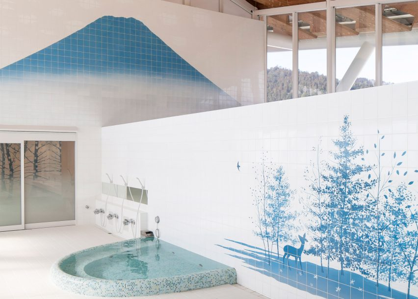 Shigeru Ban sauna is part of Jane Withers' Soak Steam Dream exhibition at the London Design Festival 2016