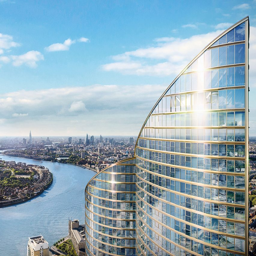 Spire London by Greenland Group
