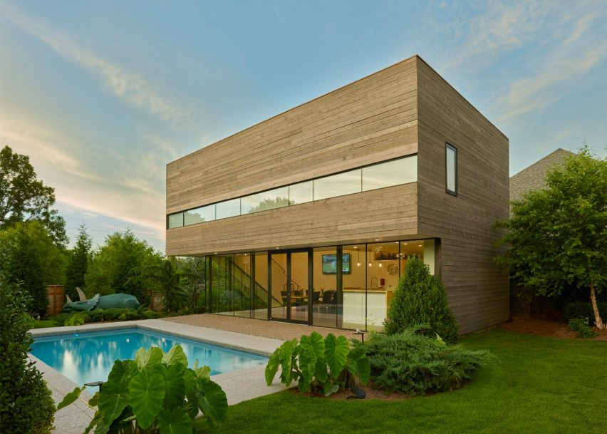 ... Srygley Pool House By Marlon Blackwell