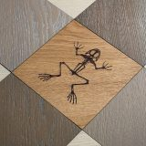 Studio Job engraves fossils in flooring for first parquet collection
