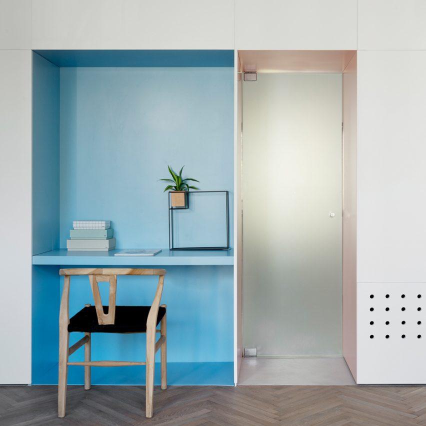 10 of the most popular apartments with herringbone on Dezeen