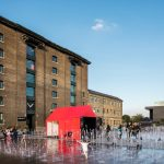 Dornbracht creates wave-like water installation for designjunction