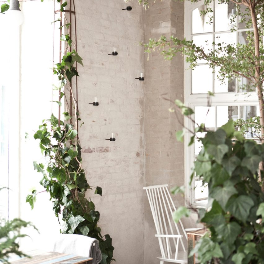 The Höst Restaurant by Norm Architects on the top 10 brick interiors on Dezeen's Pinterest boards