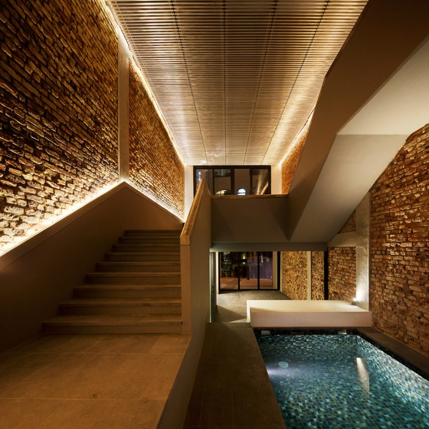 Great The Pool Shophouse By FARM And KD Architects On The Top 10 Brick Interiors  On Dezeenu0027s
